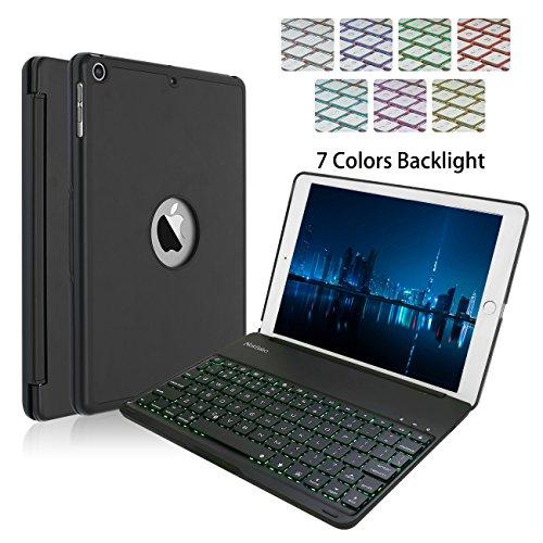 Super Slim Smart Cover Case for Apple iPad Air 1 (Black) - 6