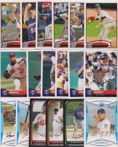 Minnesota Twins / 2000 Twins Baseball Cards - All Differe...