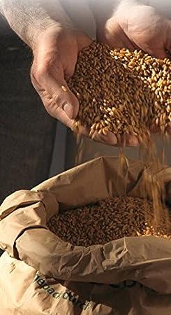 Medio harina de trigo orgánico 3x 2,5 kg - Demeter trigo orgánico harina tipo 1050: Amazon.es: Hogar