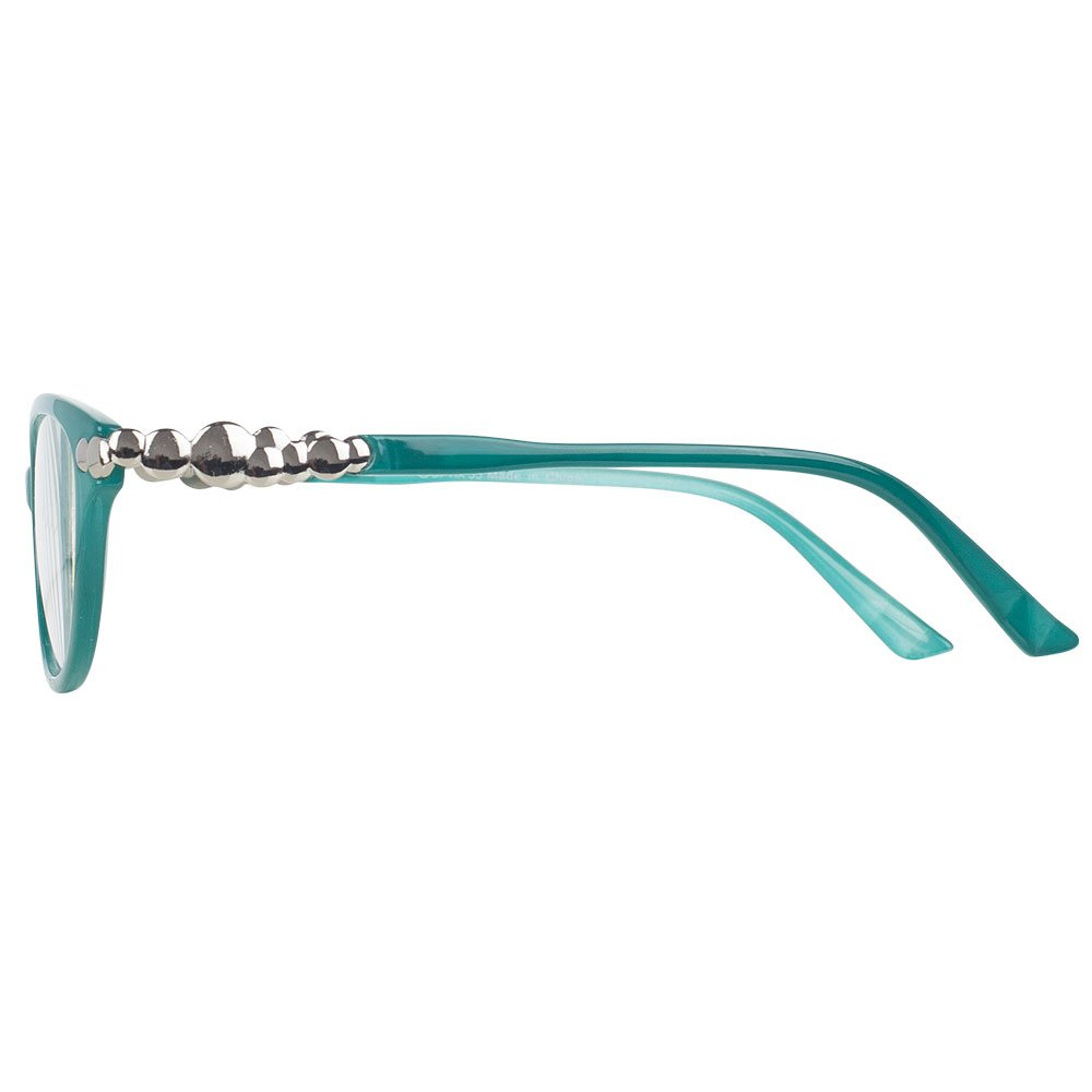 Pack of 4 Women's Reading Glasses - Stylish, Comfortable Ladies' Readers by Optix 55 (Image #4)
