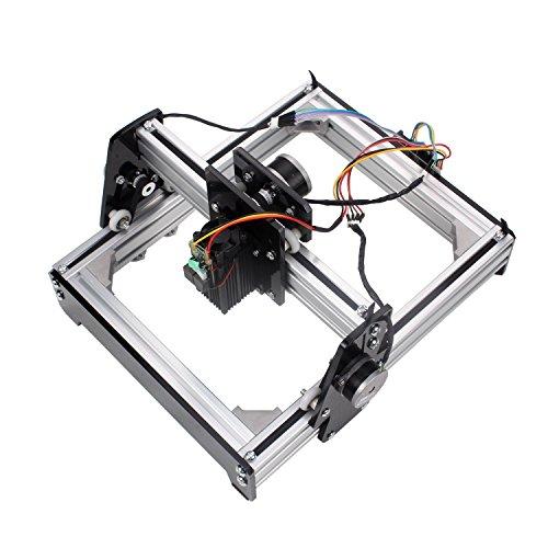 Steel Cutter Laser - Metal Steel Iron Stone Engraver DIY Printer 15W Mini Laser Engraving Machine