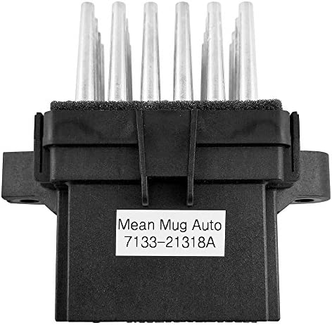 Mean Mug Auto 7133-21318A (A/C - Heater) HVAC Blower Motor Resistor - Compatible with Chevrolet, GMC, Buick, Saturn - Replaces: 15141283