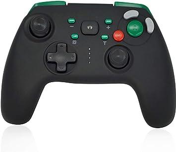 CHASDI GC Switch Controlador inalámbrico Pro con diseño de botón de Juego Compatible con Consola Nintendo Switch: Amazon.es: Electrónica