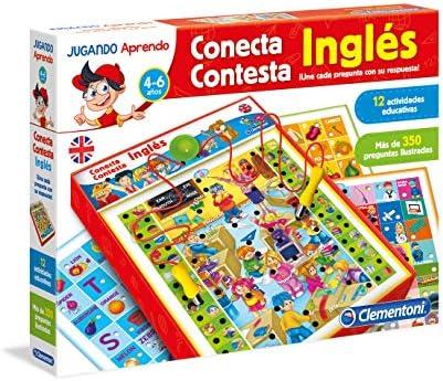 Clementoni - Conecta-Contesta, juego electrónico educativo, aprendo inglés (65381.2): Amazon.es: Juguetes y juegos