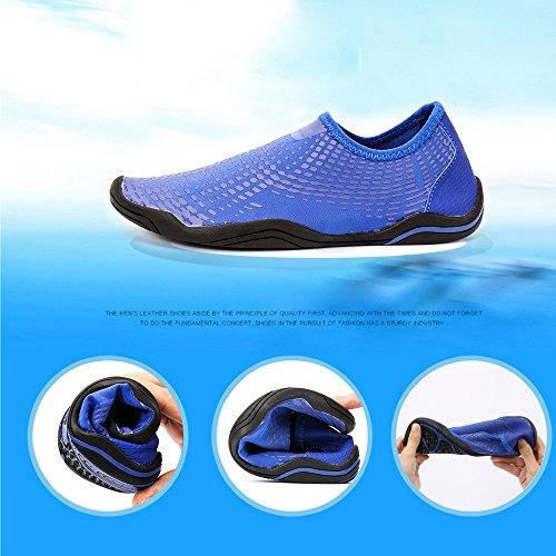 Secs Hommes Pieds Hiitave Bleu175 Schage Glissant Aqua Rapide Plage Nautiques Chaussettes De Sur Sport La Femmes Pour Chaussures R05wqE4n