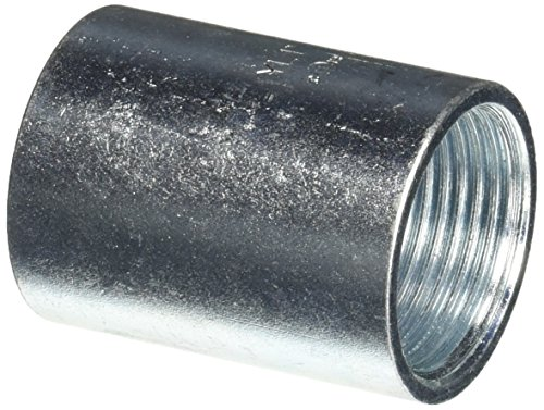 Halex 64010 1-Inch Steel Rigid Coupling (Coupling Rigid Conduit Coupling)