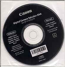 Canon Digital Camera Solution Disk Free Download Mac