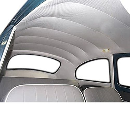 Empi 00-4392-0 VW Bug, Beetle Headliner Kit, 68-77, Type 1 Bug, Beetle & Super Beetle, Ivory (Post Headliner)