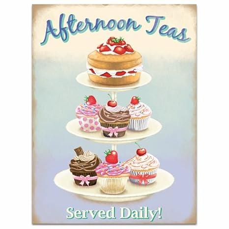 Amazon.com: Té té de la tarde Soporte para tartas estilo ...