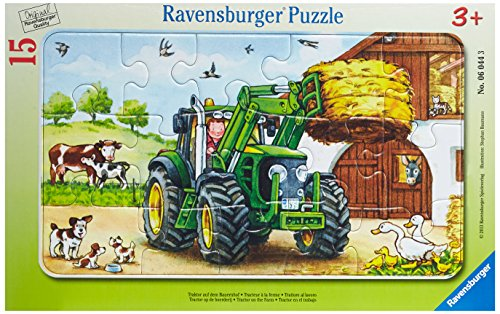 (Ravensburger Tractor on The Farm Jigsaw Puzzle (15 Piece) )
