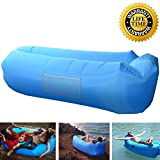 Inflatable Lounger Portable Waterproof Inflatable Couch Outdoor Couch Air Sofa Lounger Pouch Couch Bag Hammock Sleeping Sofa Couch for Traveling Hiking Camping Beach Hangout Music Beer Pool Parties