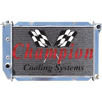 1982-1987 Lincoln Continental 4 Row CHAMPION Aluminum Radiator
