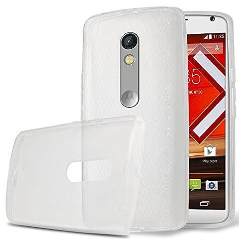 Motorola Moto X Play Case, ICE ARMOR Motorola Moto X Play Crystal Clear Case Premium Ultra Slim [Scratch Proof] Soft Flexible TPU Case Cover for Motorola Moto X (Motorola X Clear Cover)