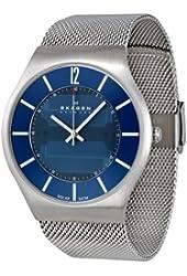 Skagen Men's 833XLSSN1 Denmark Blue Dial Watch
