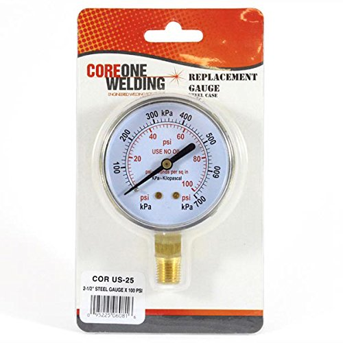 GAUGE 2.5in 0-100 PSI MODEL US-25