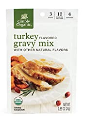 Simply Organic Turkey Flavored Gravy Mix...