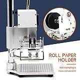 Hot Foil Stamping Machine 5 x 7cm Tipper Stamper