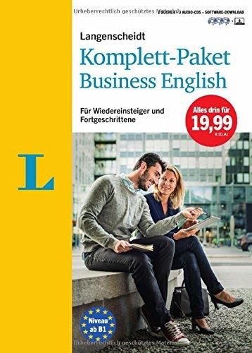 Langenscheidt Komplett-Paket Business English - Sprachkurs mit 2 Büchern, 3 Audio-CDs und Software-Download: Sprachkurs für Wiedereinsteiger und Fortgeschrittene (Langenscheidt Komplett-Paket ((NEU)))