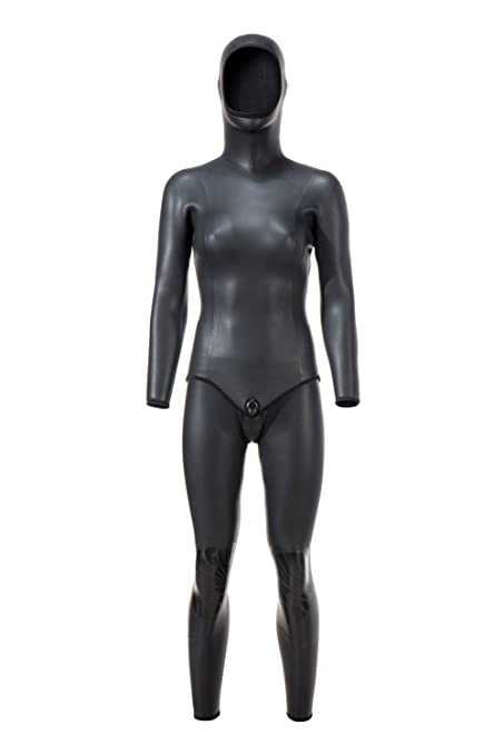 divecica Women s 3MM Full Sleeve Smooth Skin Neoprene Wetsuit for Open  Water Swimming Diving (XL 57f31aee8