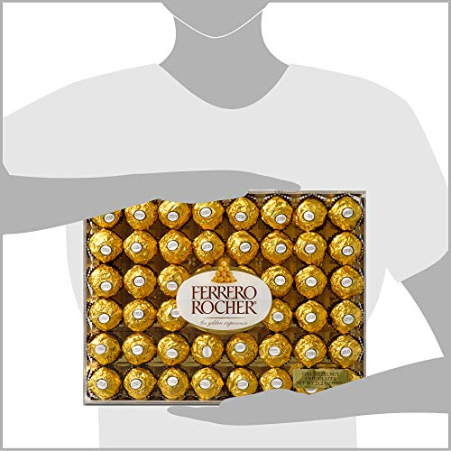 Ferrero Rocher Fine Hazelnut Chocolates, 21.1 Oz, 48 Count by Ferrero Rocher (Image #6)