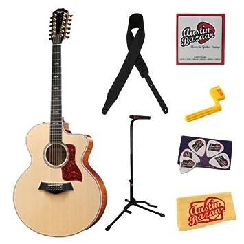 Amazon.com: Taylor 656 ce Jumbo de 12 cuerdas guitarra ...