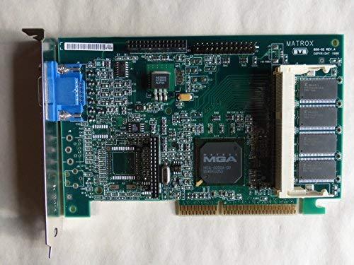 (MATROX 856-02 REV.A AGP VIDEO CARD, 400778-002, 402125-001, 8MB, MGI G2+DMILA/8D/CPQ)