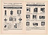 1949 Eagle Signal Eaglelux Traffic Signals Beacons Controllers 2-Page Print Ad (Memorabilia) (61445)