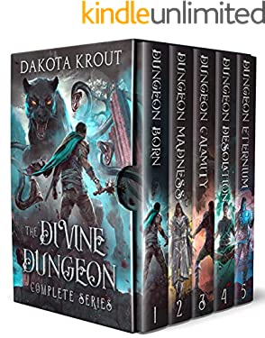 The Divine Dungeon Complete Series: Dungeon Core GameLit Fantasy