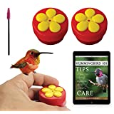 Aroma Trees 2 Mini Hand Held Hummingbird Feeders with Instructions and Kit