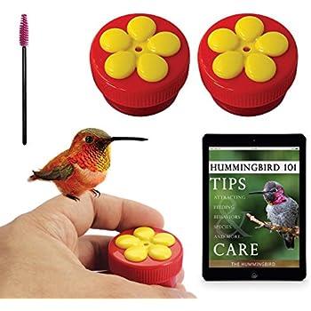 Aroma Trees 2 Mini Hand Held Hummingbird Feeders with Instructions and Kit