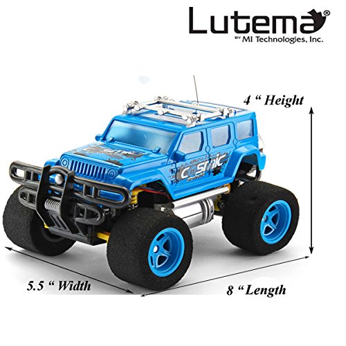 Lutema Cosmic Rocket 4CH Remote Control Truck, Blue from Lutema