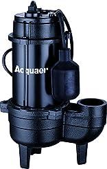 Acquaer 1/2 HP Durable Cast iron Sewage ...