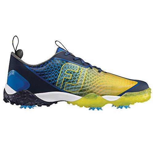 FootJoy Freestyle 2.0 Golf Shoes Blue/Yellow-w DqGqI