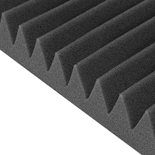 Queenwind スタジオアコースティック防音フォームサウンド吸収処理パネルウェッジ
