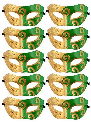 Half Face Mask Venetian Mask for Fancy Dress Costume Party -