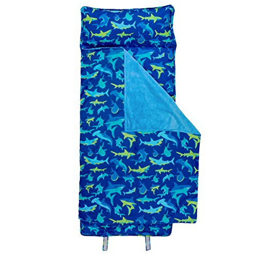 Stephen Joseph All-Over Print Nap Mat, Shark