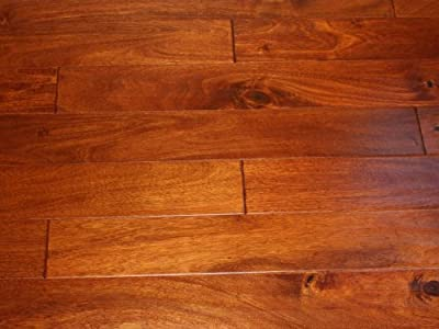 Elk Mountain Acacia Chestnut 5 x 1/2 Hand Scraped Engineered Hardwood Flooring FH243 SAMPLE