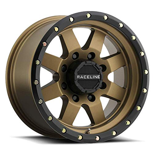 Raceline 935BZ Defender 17x9 8x170 -12mm Bronze/Black for sale  Delivered anywhere in USA