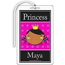 Princess Maya Personalized Bag Tag
