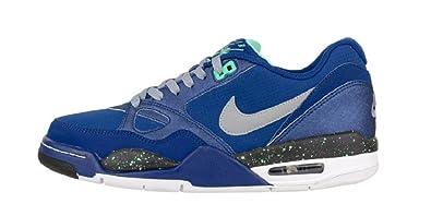 Nike Air Max Flight 13 Low Basketball Sneaker blau/grau/schwarz/weiß