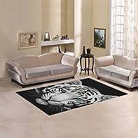 your-fantasia Custom Sweet Home Area Rug Modern Carpet Home Decoration White Tiger