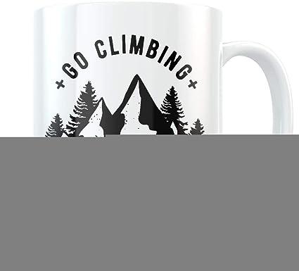 Taza de escalada de escalada para regalo de escalada ...