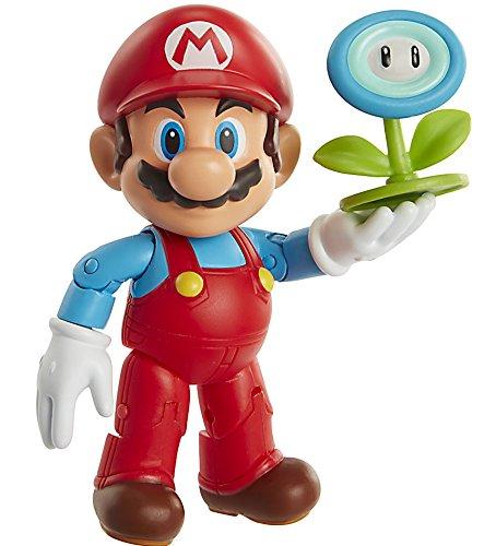 Toy Ice (World of Nintendo Ice Mario with Ice Ball Action Figure, 4