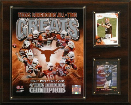 NCAA Football Texas Longhorns All-Time Greats Photo Plaque by C&I Collectables