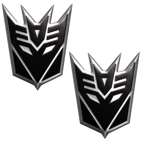 black decepticon car emblem - 2