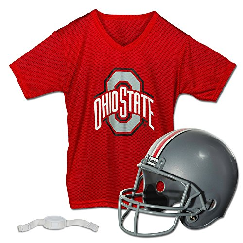 Franklin Sports NCAA Ohio State Buckeyes Youth Helmet and Jersey Set]()