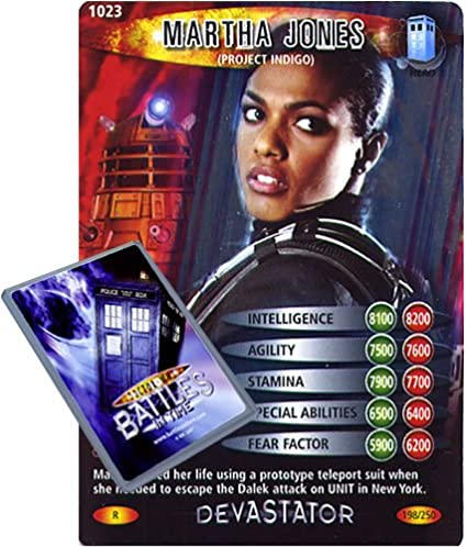 DR WHO DEVASTATOR CARD 944 MARTHA JONES BEING CLONED