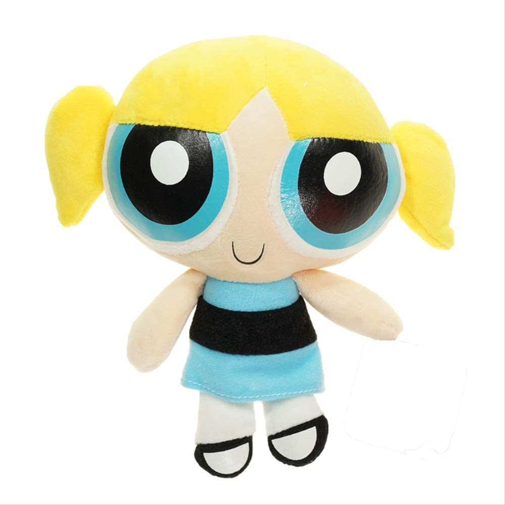 Peluche - 22cm The Powerpuff Bubbles Blossom Doll Stuffed Doll Regalo de cumpleaños