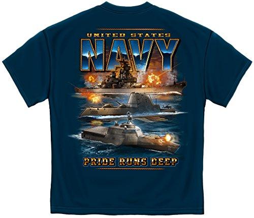 Erazor Bits US Navy Pride Runs DEEP Marine Corps Air Force US Navy Navy ADD16-MM2350L