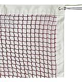 GeWeDen Badminton Net, Outdoor Indoor Badminton Tournament Net for Sports Backyard Garden Schoolyard (20 FT x 2.5 FT) with Rope Cable Top (Net Only)